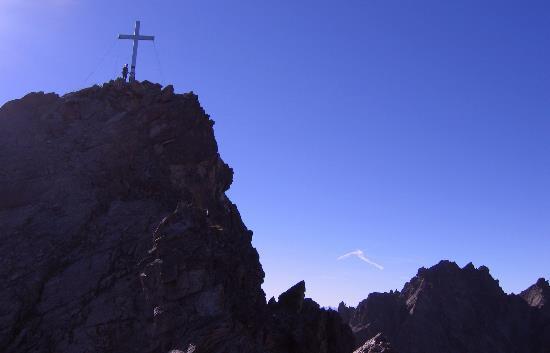 Klettersteig Nauders : Klettesteig goldweg auf die bergkastel spitze 2913m über nauders