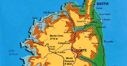 Carte Corse Monte Cinto.Scialpinismo Corsica Monte Cinto Rotondo Punta Artica Corte