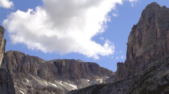 Klettersteig Dolomiten : Klettersteig pisciadù in den dolomiten